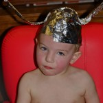 Baby Jason Tin Foil Hat