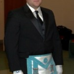 My Masonic officer installation
