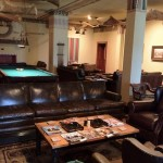 The Cigar Lounge- My absolute favorite room in the Guthrie Scottish Rite Temple